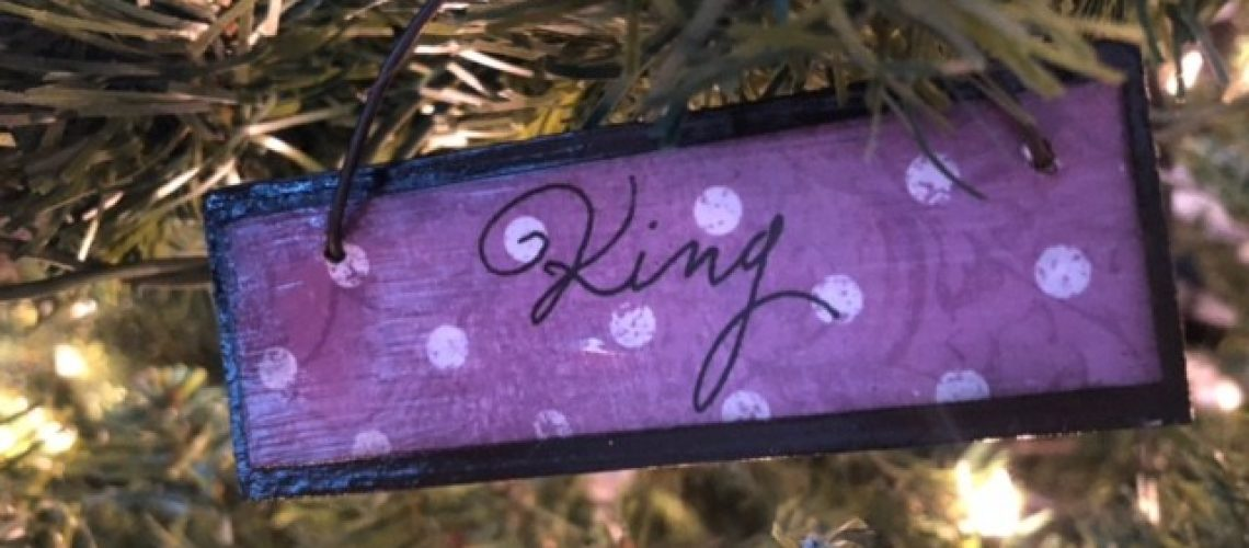 King Names of Christ Ornament