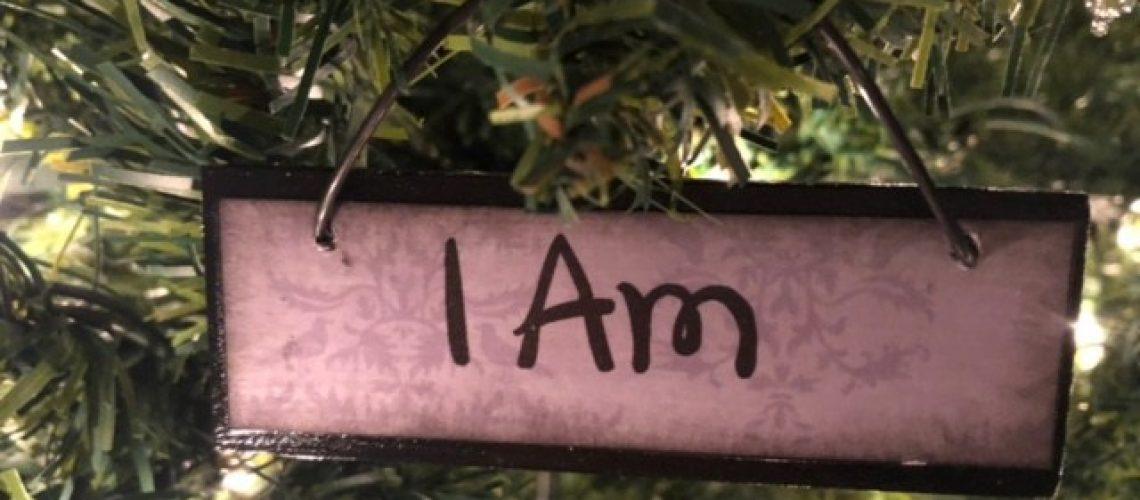 I Am Name of Christ Ornament