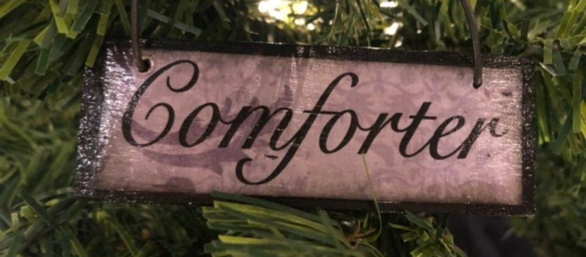 Comforter Names of Christ Ornament