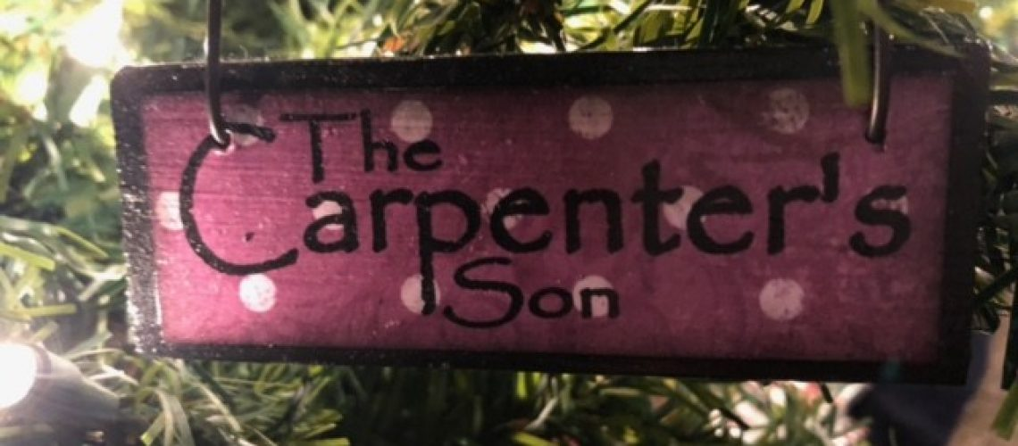 The Carpenter's Son Names of Christ Ornament