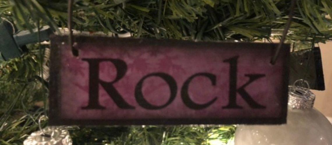 Rock Names of Christ Ornament