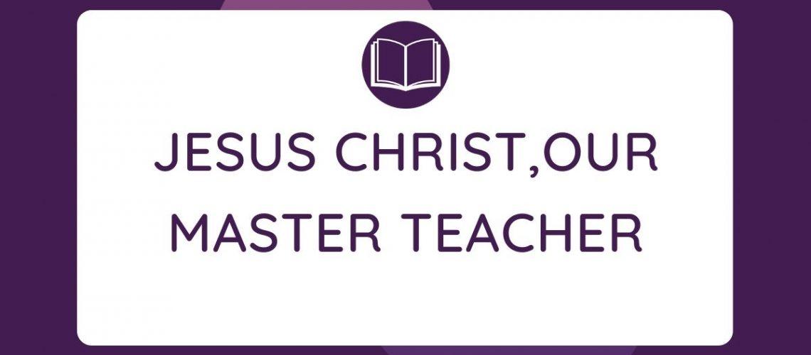 linguistic Jesus our master teacher